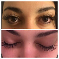 eyelash extension, JULY promotion  65$, 10% off on next refill