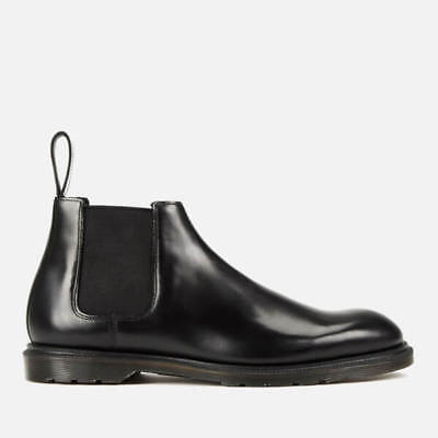 NEW Mens US Size 10  Dr Martens Wilde Dress Boot Black Leather uk 9  Womens 11