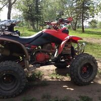 Trx 440ex with rzr tires for sale