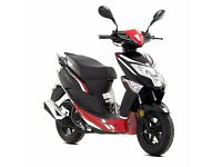 Lexmoto Echo 50 50cc Scooter Flexible Payment Terms & Nationwide Delivery