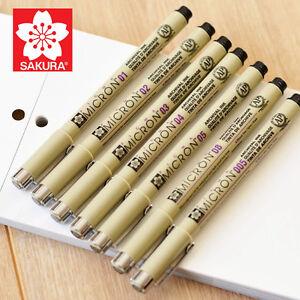 stylo noir micro pigment
