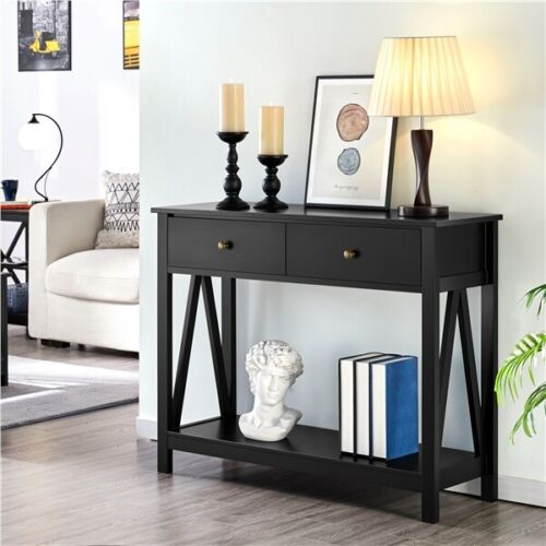 Entry/Sofa and Shelf for Entryway/Living Black