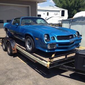 1980 Camaro Z 28 body rolling (no low ballers)
