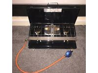 ULTRA CLEAN Yellowstone 3 Burner Gas Cooker With Grill