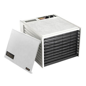 Excalibur 9 Tray Food Dehydrator 4926T with 26hr timer + 5 year Warranty, WHITE