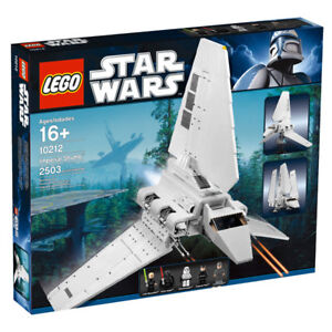 LEGO 10212 STAR WARS IMPERIAL SHUTTLE Ultimate Collector Series