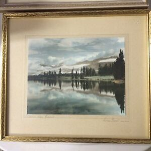 Print, Framed, Early Alberta scenes