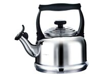 Le Creuset Hob Kettle Traditional Stainless Steel Brand New