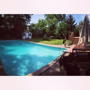 Beautiful house with pool 1 Stop to Brock and Pencenter for RENT