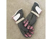 Ixon ladies textile motorcycle gloves
