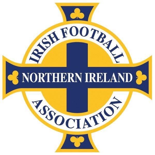 Vinyl Window Sticker 15x15cm car football Northern Ireland World Cup Belfast