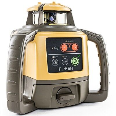 Topcon Rl-h5a Self-leveling Rotary Grade Laser Level Free Tripod