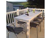 MAY BANK HOLIDAY WEEKEND Static Caravan in Porth Newquay Cornwall Heated Indoor Pool & Walk to Beach
