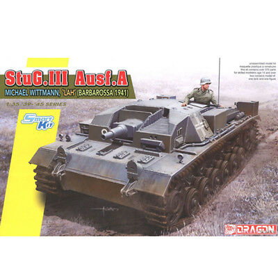 Dragon #6860 1/35 StuG.III Ausf.A. Michael Wittmann, LAH Division (Barbarossa) for sale  Shipping to United States