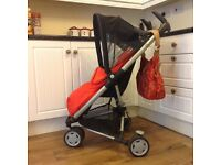 Quinny Q Design Zapp pram, pushchair, stroller, holiday buggy etc