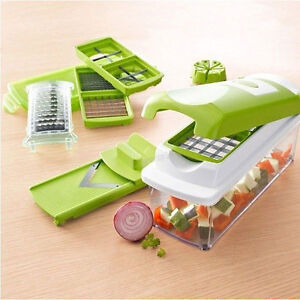 Vegetable Fruit Nicer Dicer Slicer Cutter Plus Container Chopper Chop Peeler