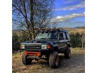 Land Rover Discover 300tdi offroad monster
