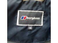 Ladies Berghaus waterproof jacket size 10