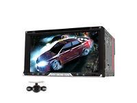 "NAVISKAUTO 6.95"" Touch Screen Universal Double Din in Dash Car Stereo"