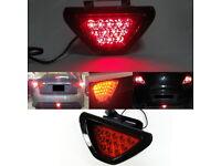 Fit 2010-2017 Jeep Wrangler 2011-2013 Grand Cherokee LED Fog Light Lamp Set DRL