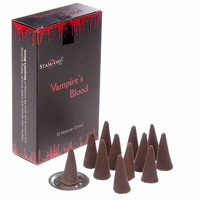 Stamford Vampires Kiss Incense Cones 6 Packs of 12 Cone Each