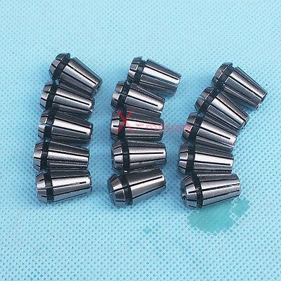 New 15pcs Er11 Spring Collet Set 116-34 Cnc Super Precision Milling Tool