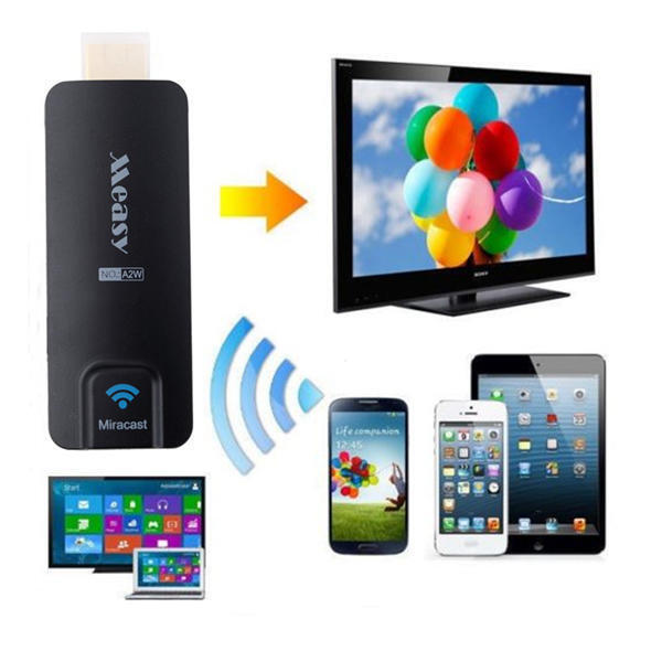 A2W High Definition Multimedia Interface Miracast Dongle DLNA Airplay Chromecast