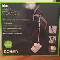 Conair Deluxe Fabric Steamer $100