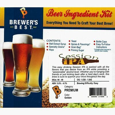 SESSION IPA Brewer's Best Homebrew Extract Beer Ingredient (Best Session Ipa Beer)