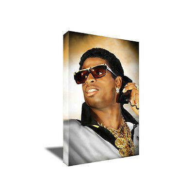 PRIME TIME Deion Sanders SWAG Poster Photo Painting Artwork on CANVAS Wall Art