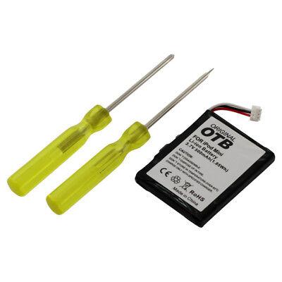 Akku für Apple iPod mini inklusive Werkzeug 500mAh 3,7V Batterie (Apple Ipod Mini 3)
