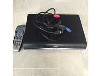 Sky + HD box with HDMI cable and remote
