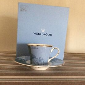 New Wedgwood expresso cup and saucer