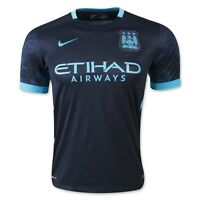 Manchester City 2015-16 Away Jersey - LARGE #7 Sterling 35$
