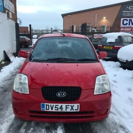Kia Picanto 1.0 GS (red) 2004