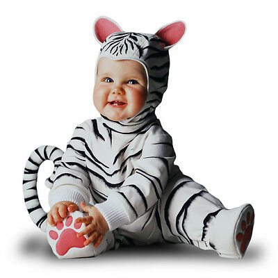 Tom Arma White Tiger Costume. size 3-4Y Kids Dress Ups/Costumes/Halloween