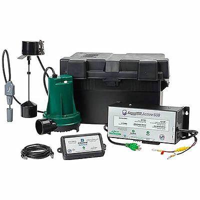 Zoeller 508-0008 Aquanot Active Back Up Pump System W Wifi Monitoring