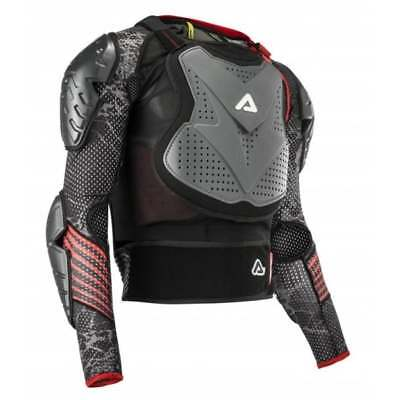Acerbis Adults Scudo CE Approved 3.0 Motocross MX Bike Body Armour - Grey