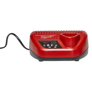 Chargeur neuf Milwaukee M12 New Battery Charger 48-59-2401