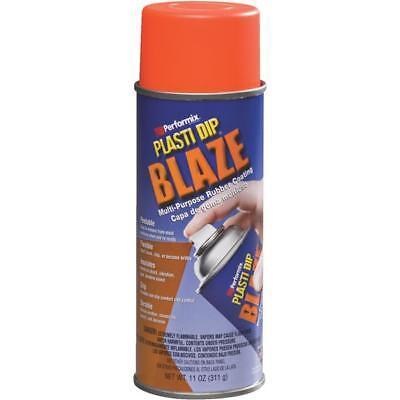 3 Pk 11 Oz Performix Plasti Dip Blaze Orange Rubber Coating Spray Paint 11218-6