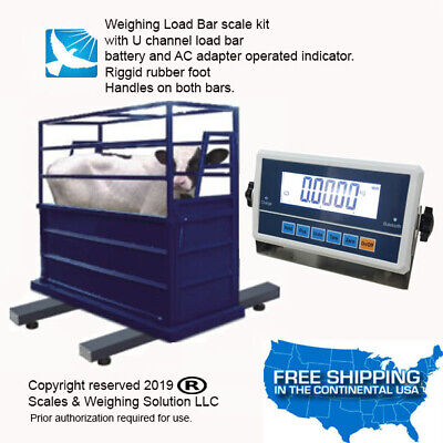 Livestock Load Bar Kit Cattle Hog Goat Sheep Alpaca Pig Farm Scale Sws.22-4h