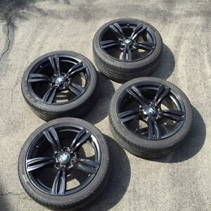"""18"""" BMW RIMS AND TIRES M3"""