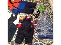 Boys age 0-3 3-6 months clothes