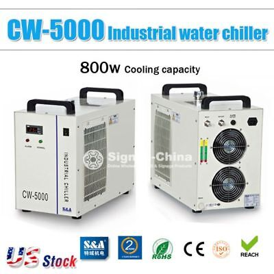 Cw-5000 Industrial Water Chiller For 5kw Engraver 80w100w120w Co2 Laser Tube