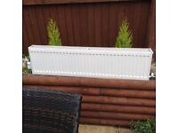 Double radiator.