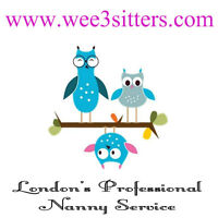 Wee 3 Sitters - Professional Nanny Service (evening & weekends)