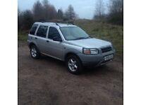 Land Rover freelander 12 months mot