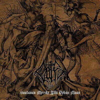Oath - Saatanan Myrsky Ylla Pyhan Maan CD 2014 black metal Finland