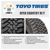 35x12.50R20 TOYO OPEN COUNTRY M/T'S