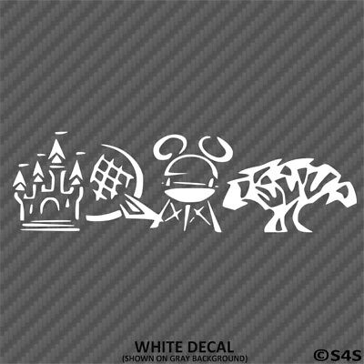 Family Vacation Camper (Disney Parks Family Vacation Car/Truck/Camper Vinyl Decal Sticker - Choose)
